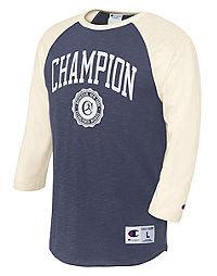 Champion Heritage Men's Big & Tall Baseball Slub Tee