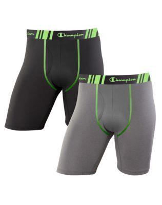8787af4515be Champion Men's Tech Performance Long Leg Boxer Brief 2-Pack | Champion