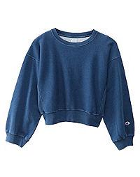 Champion Japan Premium Women's Reverse Weave® Cropped Sweatshirt