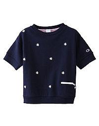 Champion Japan Premium Women's Short-Sleeve Sweatshirt