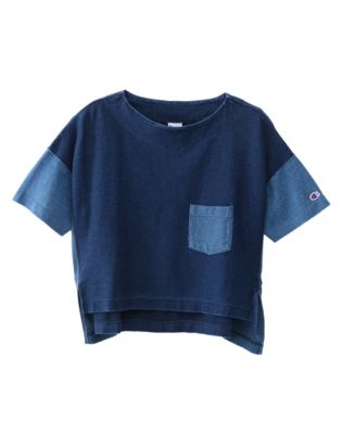 Champion Japan Premium Women's Reverse Weave™ Pocket Tee