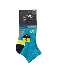 C9 Champion® Boys' Reflective Ankle Socks 2-Pack