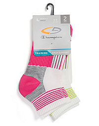 C9 Champion® Women's Indoor Training Ankle Socks 2-Pack