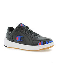 Champion Life™ Men's Super C Court Leather Shoes, Black