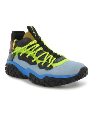 Champion Life™ Men's Tank Colorblock Leather Shoes, Black Multi