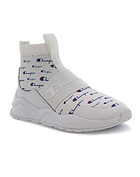 Champion Life™ Women's Rally Pro Shoes, All Over Logo White