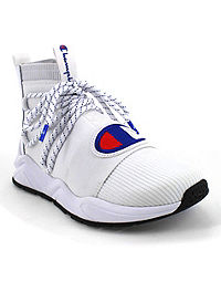 Champion Life™ Men's Rally Hype Mid Shoes, White/Surf The Web