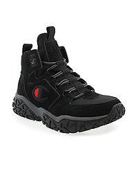 Champion Life™ Kids' Tank Grid Nubuck Shoes, Black