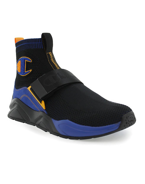 Champion Life™ Men's Rally Lockdown Shoes, Black/Surf The Web
