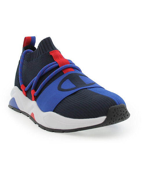 Champion Life™ Men's Rally Hype Lo Shoes, Navy/Surf The Web