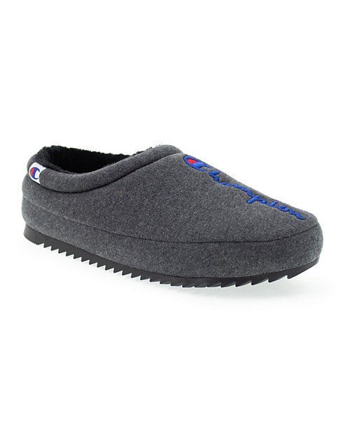Champion Life™ Men's Shuffle Slippers, Granite Heather