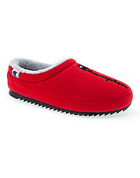 Champion Life™ Men's Shuffle Slippers, Scarlet/Black