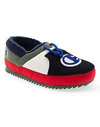 Champion Life™ Kids' University Slippers, Black Multi