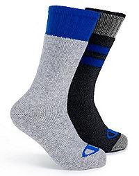 Champion Men's Outdoor Wool Crew Socks 2-Pack