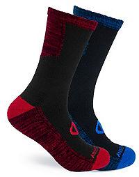 Champion Men's Outdoor Crew Socks 2-Pack