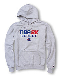 Exclusive Champion Men's NBA 2K Pullover Hoodie, C Logo