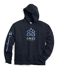 Exclusive Champion Men's NBA 2K Memphis Grizz Gaming Pullover Hoodie