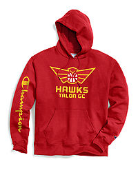 Exclusive Champion Men's NBA 2K Atlanta Hawks Talon Gaming Pullover Hoodie