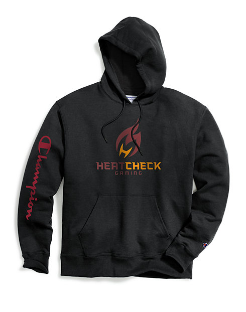 Exclusive Champion Men's NBA 2K Miami HeatCheck Gaming Pullover Hoodie