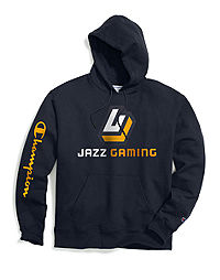 Exclusive Champion Men's NBA 2K Utah Jazz Gaming Pullover Hoodie