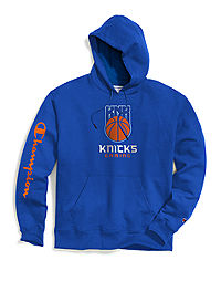 Exclusive Champion Men's NBA 2K New York Knicks Gaming Pullover Hoodie