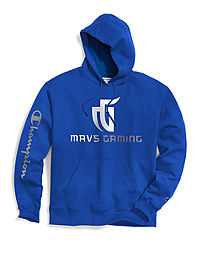 Exclusive Champion Men's NBA 2K Dallas Mavs Gaming Pullover Hoodie