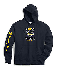 Exclusive Champion Men's NBA 2K Indiana Pacers Gaming Pullover Hoodie
