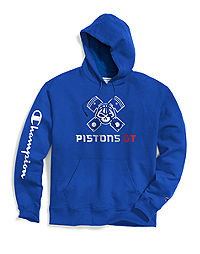 Exclusive Champion Men's NBA 2K Detroit Pistons Gaming Pullover Hoodie