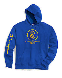 Exclusive Champion Men's NBA 2K Los Angeles Warriors Gaming Pullover Hoodie