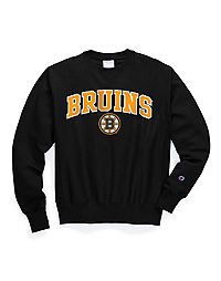 Exclusive Champion Life® Men's Reverse Weave® NHL Crew, Boston Bruins