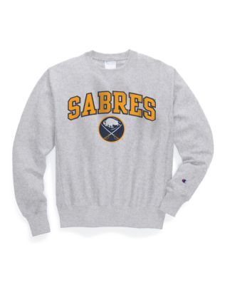 Exclusive Champion Life® Men's Reverse Weave® NHL Crew, Buffalo Sabres Vintage Marks Series 1970-71