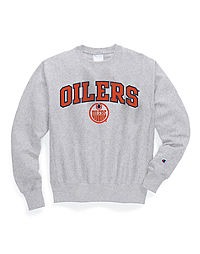 Exclusive Champion Life® Men's Reverse Weave® NHL Crew, Edmonton Oilers Vintage Marks Series 1978-79