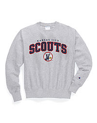 Exclusive Champion Life® Men's Reverse Weave® NHL Crew, Kansas City Scouts Vintage Marks Series 1974-75