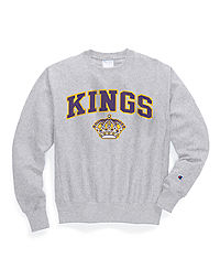 Exclusive Champion Life® Men's Reverse Weave® NHL Crew, Los Angeles Kings Vintage Marks Series 1967-68