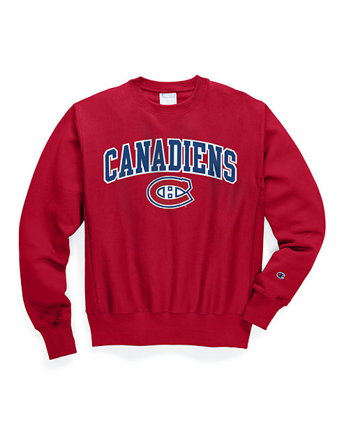Exclusive Champion Life® Men's Reverse Weave® NHL Crew, Montreal Canadiens