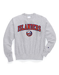 Exclusive Champion Life® Men's Reverse Weave® NHL Crew, New York Islanders Vintage Marks Series 1972