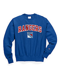 Exclusive Champion Life® Men's Reverse Weave® NHL Crew, New York Rangers