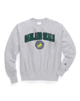 Exclusive Champion Life® Men's Reverse Weave® NHL Crew, Oakland Seals Vintage Marks Series 1967-68
