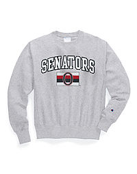 Exclusive Champion Life® Men's Reverse Weave® NHL Crew, Ottawa Senators Vintage Marks Series 1917-18