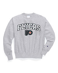 Exclusive Champion Life® Men's Reverse Weave® NHL Crew, Philadelphia Flyers Vintage Marks Series 1967-68