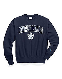 Exclusive Champion Life® Men's Reverse Weave® NHL Crew, Toronto Maple Leafs