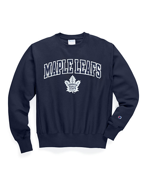 e3c67dc2 Exclusive Champion Life® Men's Reverse Weave® NHL Crew, Toronto Maple Leafs    Champion