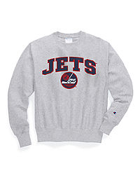 Exclusive Champion Life® Men's Reverse Weave® NHL Crew, Winnipeg Jets Vintage Marks Series 1979-80