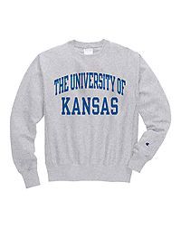 Champion Life® Men's Reverse Weave® NCAA Kansas Jayhawks Sweatshirt
