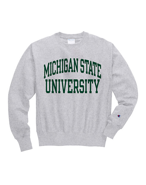 huge selection of d4a04 66052 Champion Life® Men s Reverse Weave® NCAA Michigan State Spartans Sweatshirt    Champion
