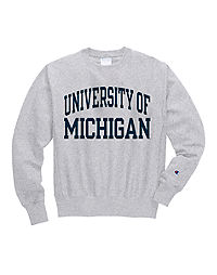 Champion Life® Men's Reverse Weave® NCAA Michigan Wolverines Sweatshirt