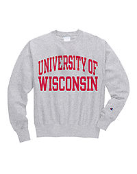 Champion Life® Men's Reverse Weave® NCAA Wisconsin Badgers Sweatshirt