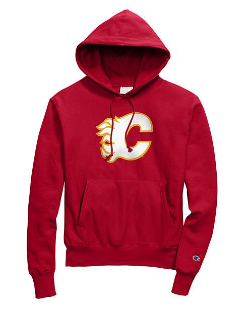 online retailer 98d64 2f114 Exclusive Champion Life® Men's Reverse Weave® NHL Hoodie, Calgary Flames  Vintage Marks Series 1980-81