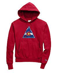 Exclusive Champion Life® Men's Reverse Weave® NHL Hoodie, Colorado Rockies Vintage Marks Series 1976-77