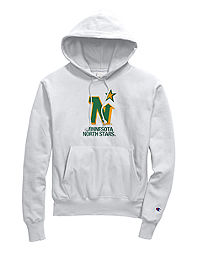 Exclusive Champion Life® Men's Reverse Weave® NHL Hoodie, Minnesota North Stars Vintage Marks Series 1967-68